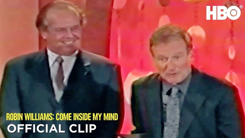 Jack Nicholson Robin at the Critics' Choice Awards | Robin Williams: Come Inside My Mind | HBO