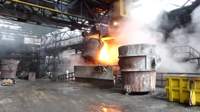 Burning Steel! Hell Work Foundry Intelligent Technology Mega Machines Slag Processing Drilling