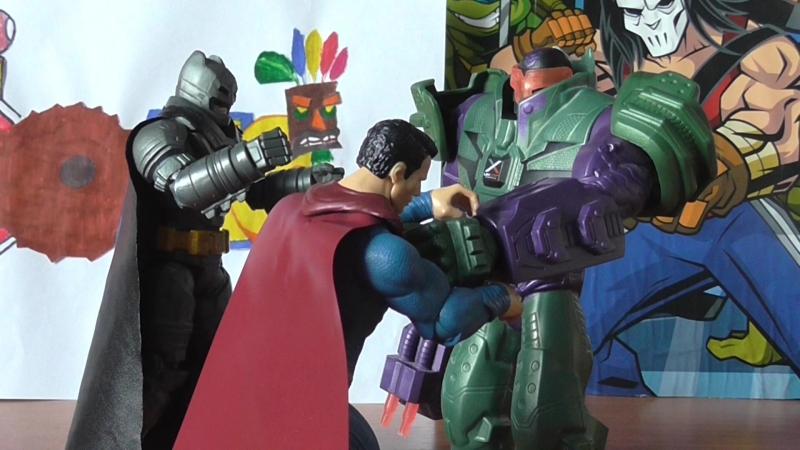 DC Rebirth Бэтмен против Супермена