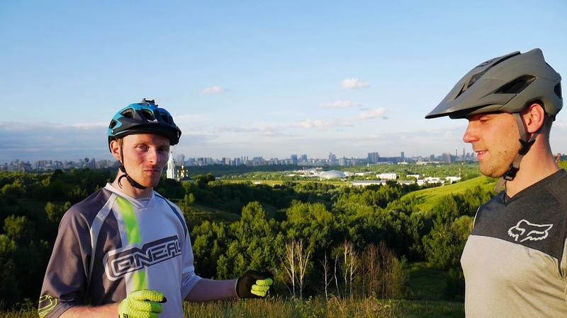 Как правильно тормозить на горном велосипеде? Дорога к эндуро 3 с Андреем Алаторцевым.