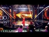 Вера Брежнева в платье Hayk Avanesyan (телеканал: СТС)
