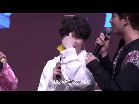 Suga era fan de John Cena, Tae vío a Jungkook practicando sin camisa Jungkook canta Euphoria