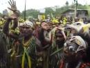 Аборигены Папуа-Новой Гвинеи поют Шма Израэль на иврите