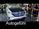 Daimler going electric Mercedes Generation EQ sub brand concept new Smart electric