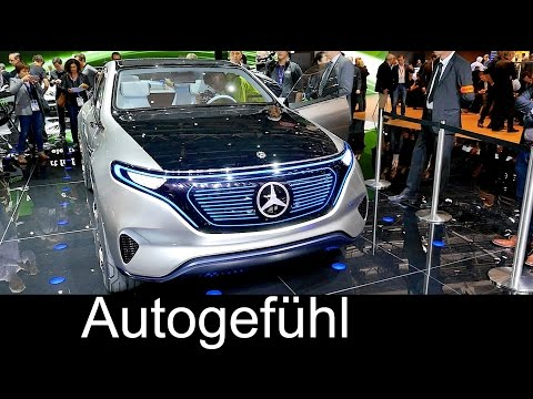 Daimler going electric: Mercedes Generation EQ sub-brand concept new Smart electric
