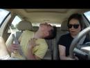 Когда услышал любимую музыку в машине!