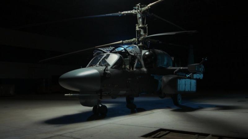 Видеоиллюстрация «Разведывательно-ударные вертолеты Ка-52»