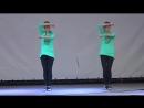 Танец Хватит учить - давай танцевать! (hip-hop) - Соня Макиенко и Ксюша Макиенко