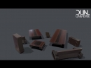 «New WIP Decorative Elements for Dual Universe some furniture! We hope youll like them!… »