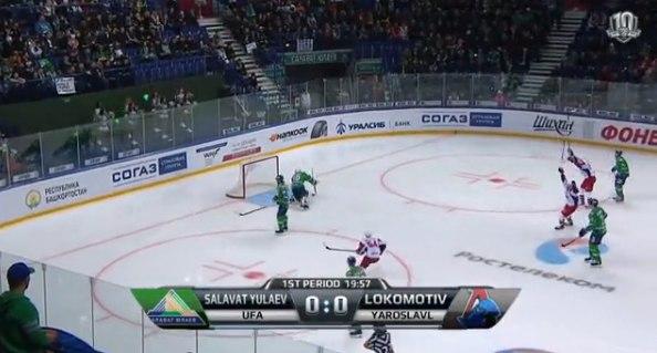 Защитник «Локомотива» Елесин забросил самую быструю шайбу в истории КХЛ