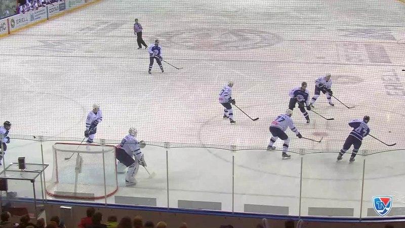 Моменты из матчей КХЛ сезона 14 15 Гол 2 1 Зарипов Данис Металлург Мг в пустой угол 28 12