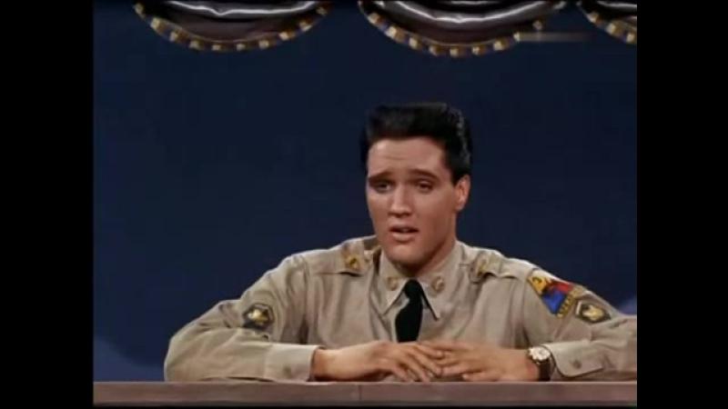 Elvis Presley - Muss i denn zum Städtele hinaus -Wooden Heart- 1960