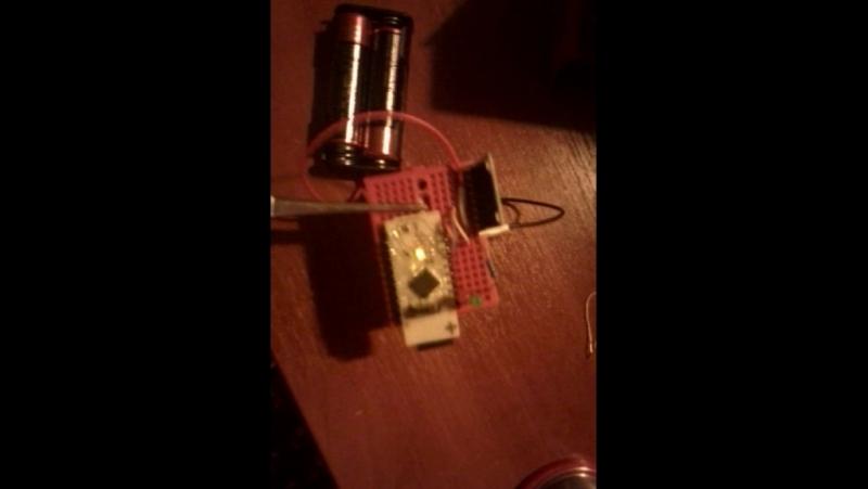 Акселерометр MPU-6050 моргает светодиодами