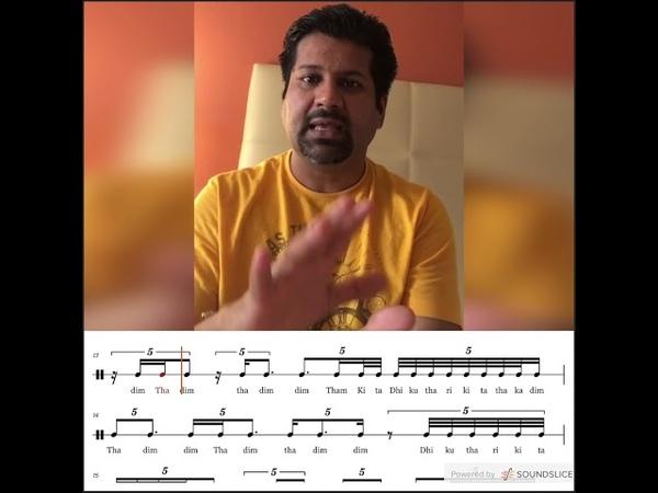 BC Manjunath · Korvai in Khanda Gathi