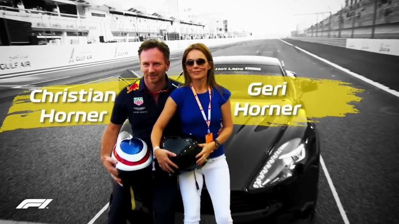 Christian Horners Spicy Lap With Geri Horner! _ Pirelli Hot Laps