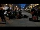 уличные музыканты. питер. апрель