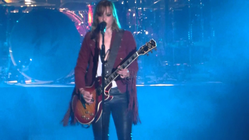 "She Wont Mind Amen"" Halestorm@Santander Arena Reading PA 4 1 16"
