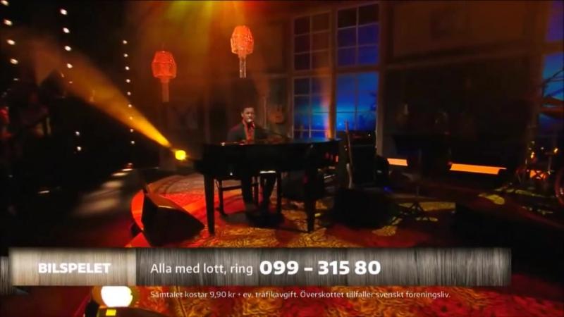 Jon Henrik Fjällgren - Daniels jojk - BingoLotto 19.10.2014