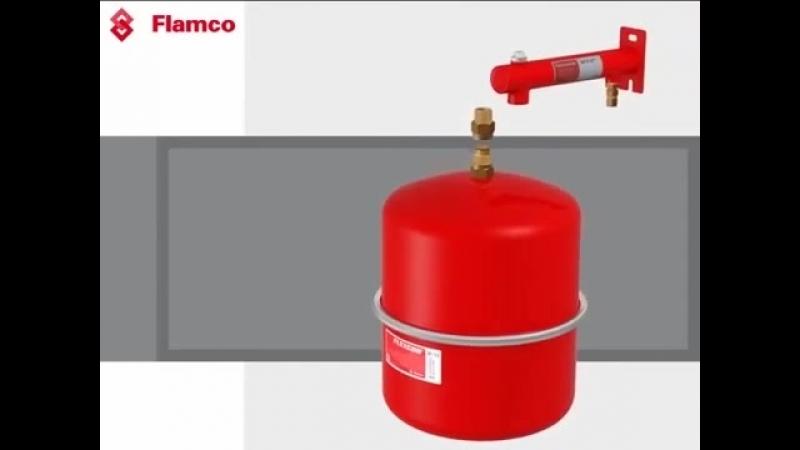 Расширительный бак отопления Meibes Flamco Flexcon