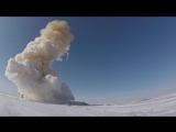 Пуск модернизированной ракеты российской системы противоракетной обороны