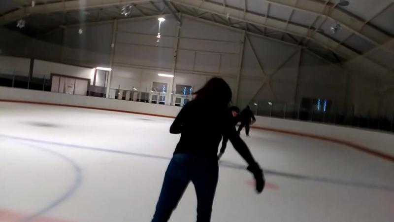 Льодовий каток в Ковалівці