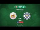 Бристоль Сити Манчестер Сити 1 тайм HD
