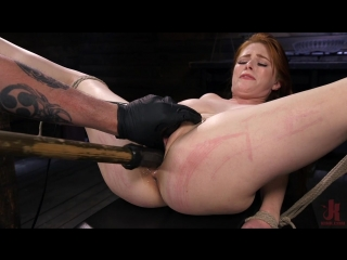 Penny Pax (Red Headed Slut is Bound, Tormented, Double Penetrated and Made to Cum)[2018, BDSM, Bondage, Toys, Domination, 720p]