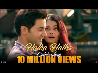 This one is for all the people in love! HalkaHalka celebrating 10 million views.