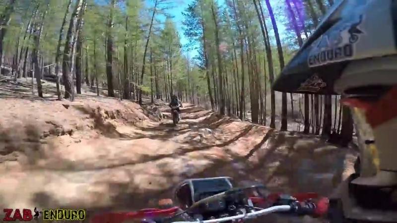 [Zab Enduro] Эндуро - это весело! Утопил Мотоцикл. Весеннее ЭНДУРО