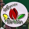 Бесплатная доставка цветов, шаров FanFan Вологда