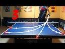 Best Table Tennis Serves Tutorial Pt 3 fastest backhand pendulum TOMORROW TABLE TENNIS