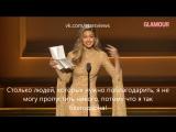 Джиджи Хадид: Glamour Women Of The Year Award [rus sub]