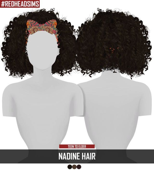 NADINE HAIR by REDHEADSIMS