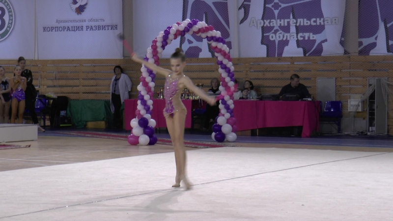 Порохина Вероника, 2003 г.р. - БУЛАВЫ (Архангельск), 11.02.2018г.