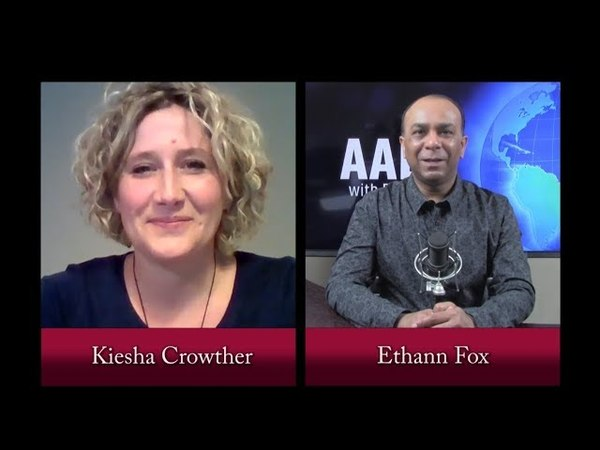 AAE tv | The Tribe Of Many Colors | Kiesha Crowther | 4.28.18