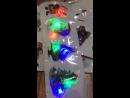 Светящиеся наклейки на окна 1 рисунок 200 тг 10см