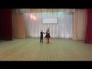 Илюшин Миша и Селезнева Катя. Веселый спор. Учат в школе