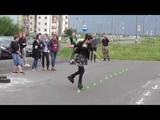 Танец на роликовых коньках