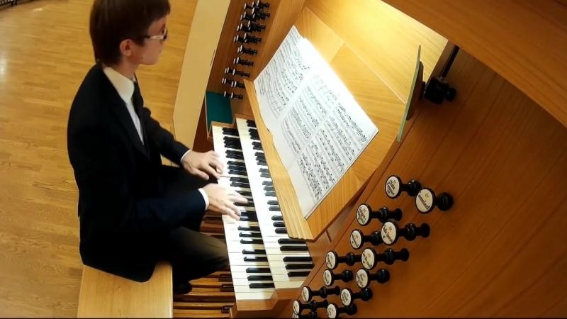 J. S. Bach Passacaglia c-moll BWV 582 _ И.С.Бах Пассакалия до минор