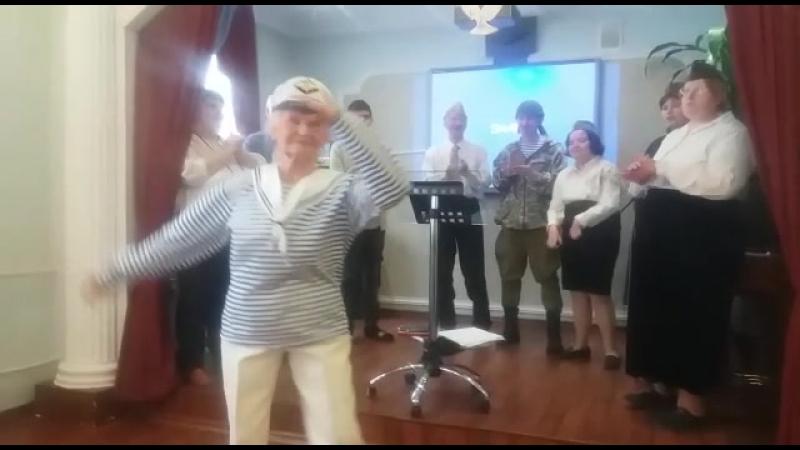 Поздравление с Днём защитника Отечества от участников студии Пара-Па ТЦСО Фили-Давыдково