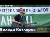Володя Котляров - Любовь. ВЕГАН ФЕСТ 26.05.2018, Санкт- Петербург