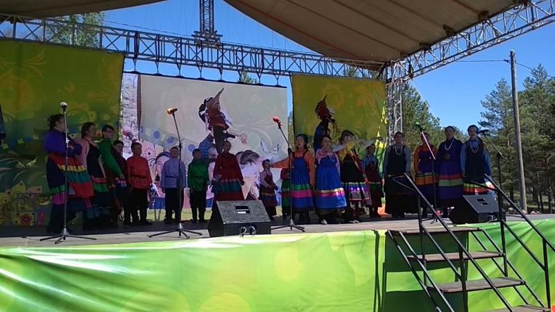 ансамбль Черпачокина Гала-концерте фестиваля Байкальских хоровод
