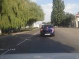 Неадекват за рулем в Армавире?