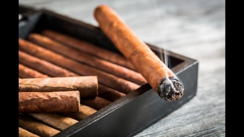 Вариант скрутки сигары