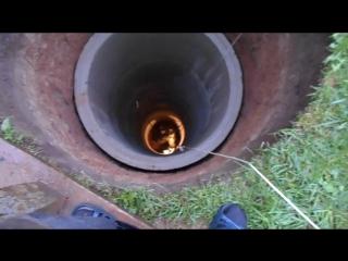 фонтан в колодце вскрыли водоупор приток 15 кубов