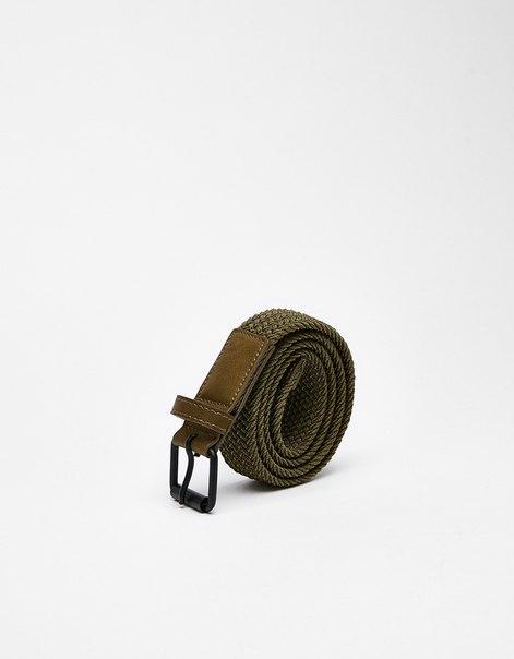 Ремень с декоративными швами