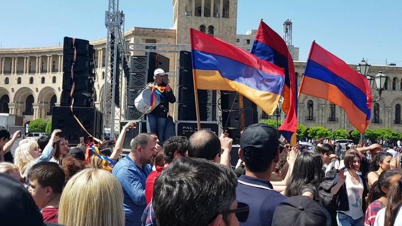 Армения Революция