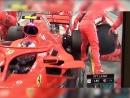 Гонщик «Формулы-1» сбил механика на пит-стопе