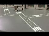 Игровая лента Автомобильная дорога . Игровой скотч из тематического набора транспорт