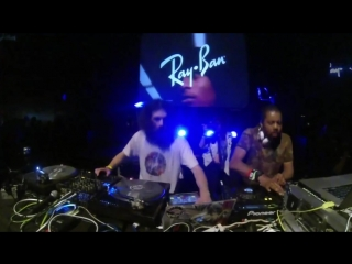 Just Blaze b2b The Gaslamp Killer Ray-Ban x Boiler Room 004